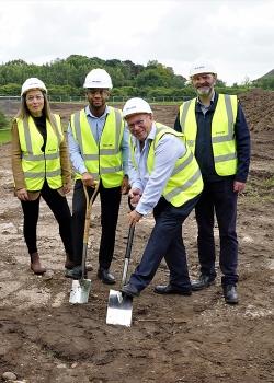 Construction Starts on Sulzer's New Birmingham Service Center