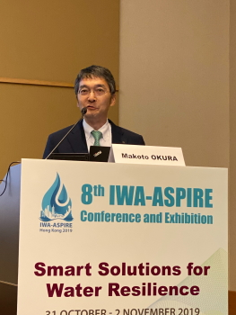 Hong Kong's IWA-ASPIRE Conference 2019: De Nora Highlights Innovative Solution Addressing Chlorine Management Safety