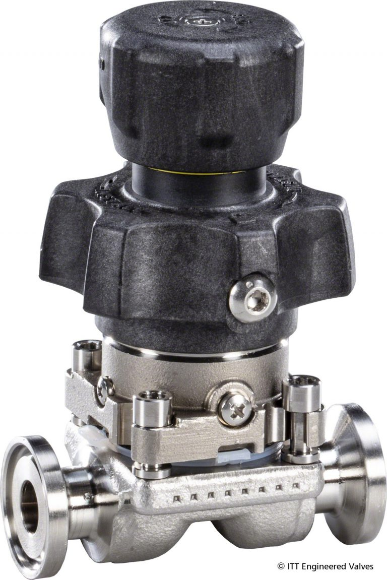 ITT Engineered Valves Introduces Ultra-Compact EnviZion Valve Product Line for BioPharm Industry