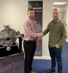 Amarinth Secures Order for Bespoke Vertical Pumps
