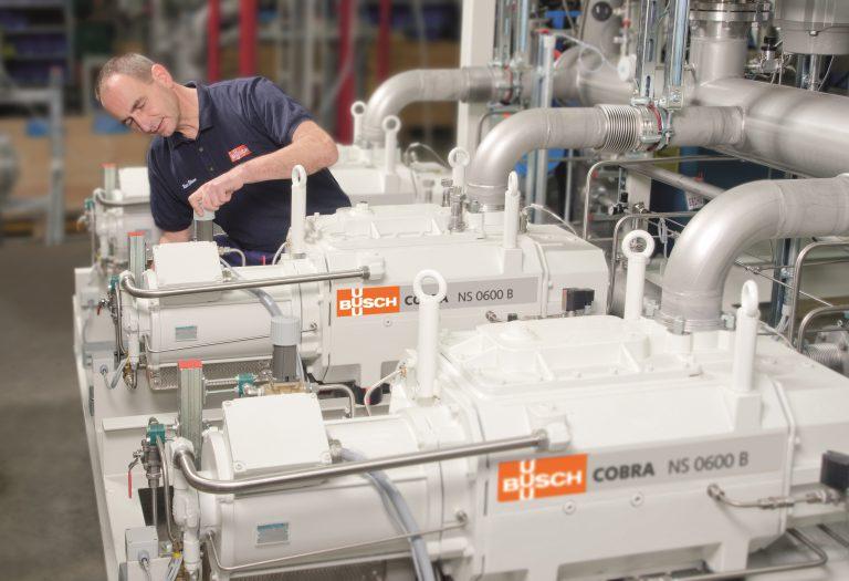 Busch Vacuum Solutions unter Top 100 Wachstumsstärksten Mittelständlern Deutschlands 2019