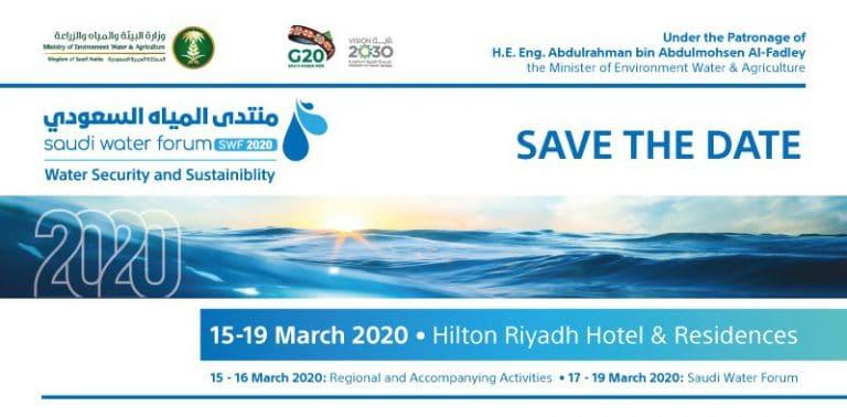 Saudi Water Forum 2020 – Save the Date