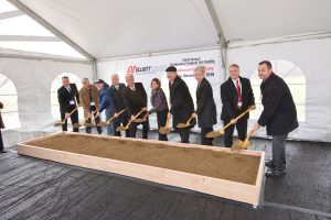 Groundbreaking Ceremony for Cryogenic Pump Testing Facility