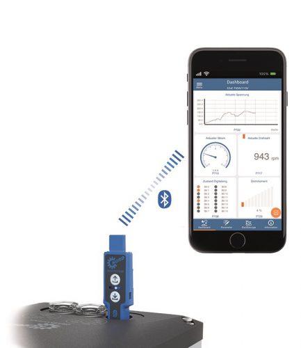 Service per APP für den mobilen Einsatz
