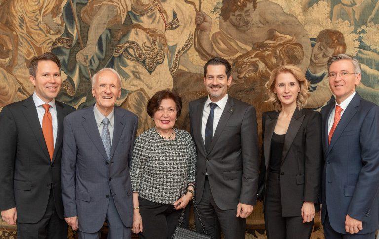 Dr.-Ing. Karl Busch zum Ehrensenator der Technischen Universität München ernannt