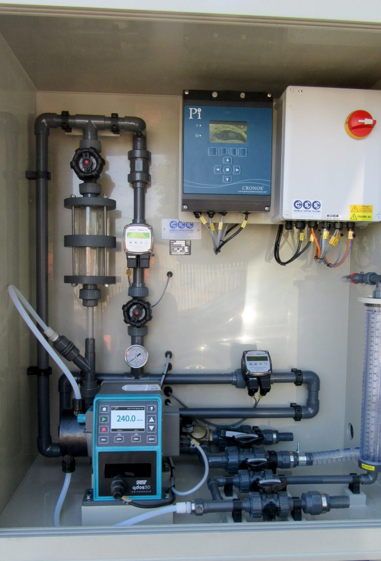 Qdos Pumps Used Extensively for Polymer Dosing in Wastewater Treatment