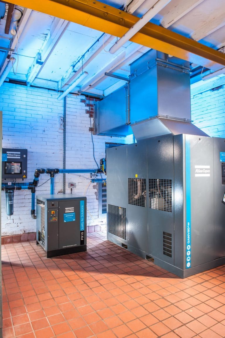 Compressed Air and Vacuum System Makeover Generates Massive Energy Savings and Downtime Reduction for Brick Maker