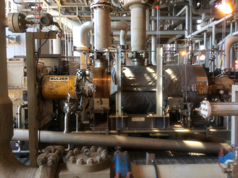 Sulzer water injection pump brought back to life to maintain productivity after seven years lying dormant