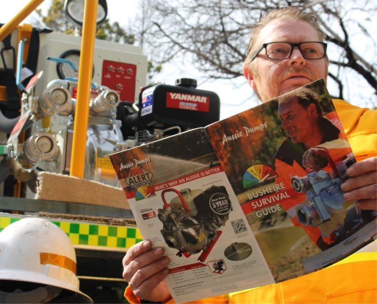 Aussie Pumps Provides New Fire Survival Guide