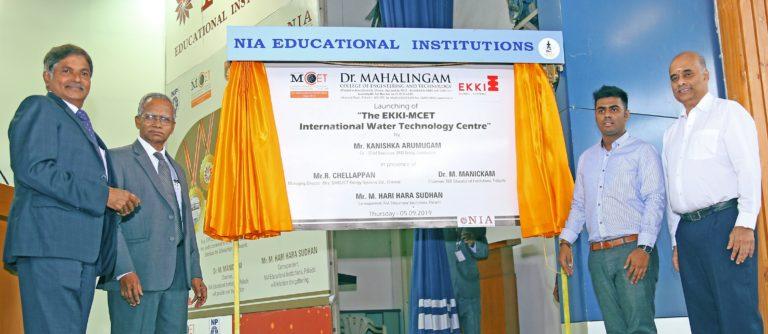 EKKI Pumps Establishes Centre at Excellence at MCET