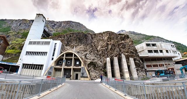 Abwasserreinigung in den Schweizer Alpen mit Technologie von AERZEN