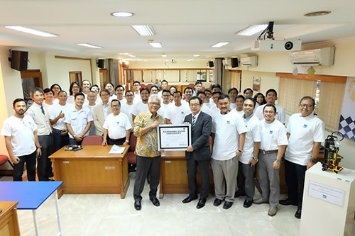 EBARA Donated Pumps to University of Indonesia