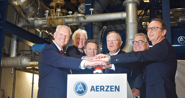 AERZEN compressor station in use for research