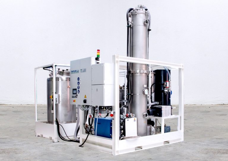 The new degassing units from TARTLER free the media handling from harmful air