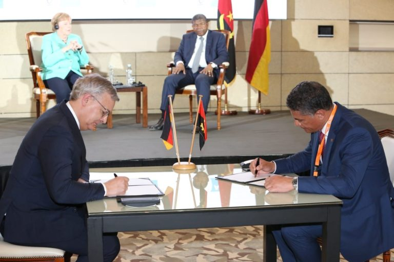 Voith signs memorandum of understanding to build training center in Angola