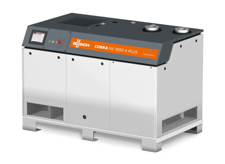 Busch Vacuum Solutions Presents New Screw Vacuum Pump