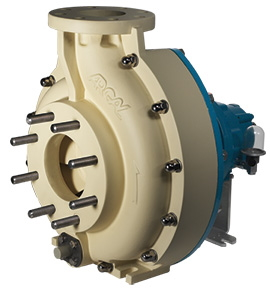 Centrifugal Fibreglass Pumps for Wastewater Treatment Project in the Middle East