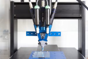 ViscoTec eco-DUOMIX Dispensing System for all Difficult to Mix 2-component Materials