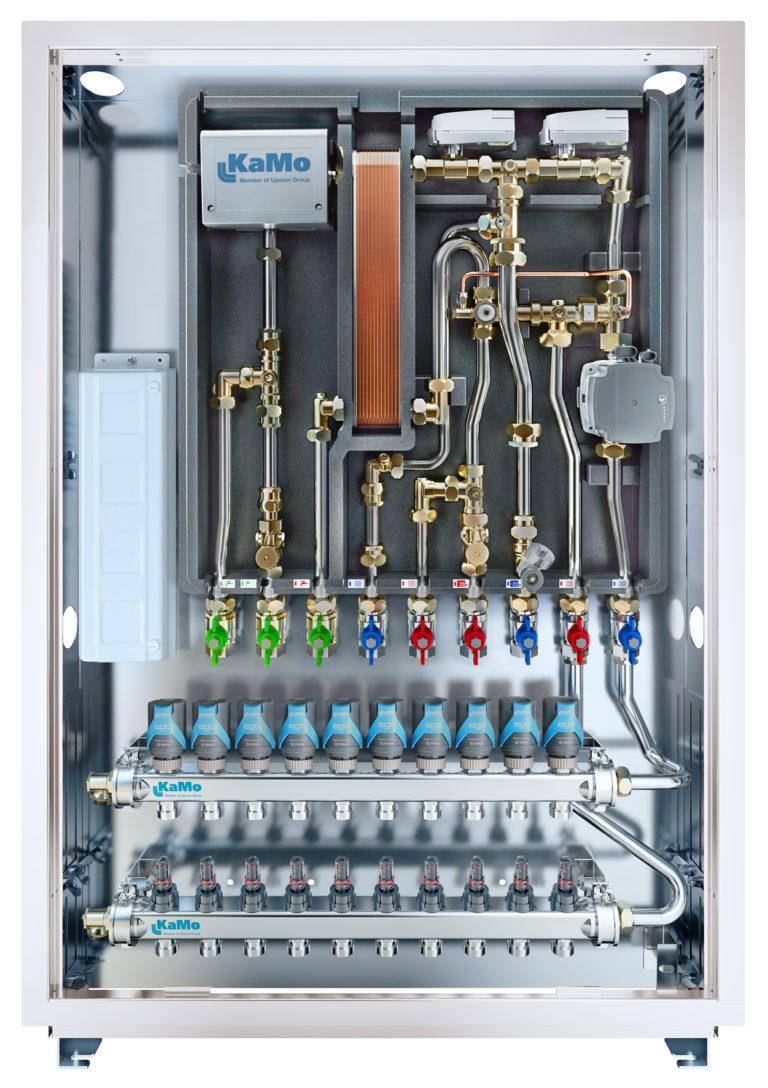 Combi Port E von KaMo hebt Komfort, Hygiene und Energieeffizienz auf ein neues Niveau