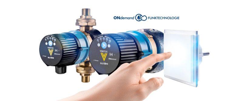Neue Energiesparpumpe von VORTEX