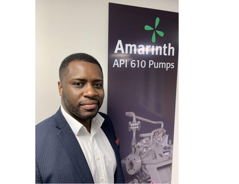 Amarinth taps into oil and gas projects in Africa with new Territory Sales Manager