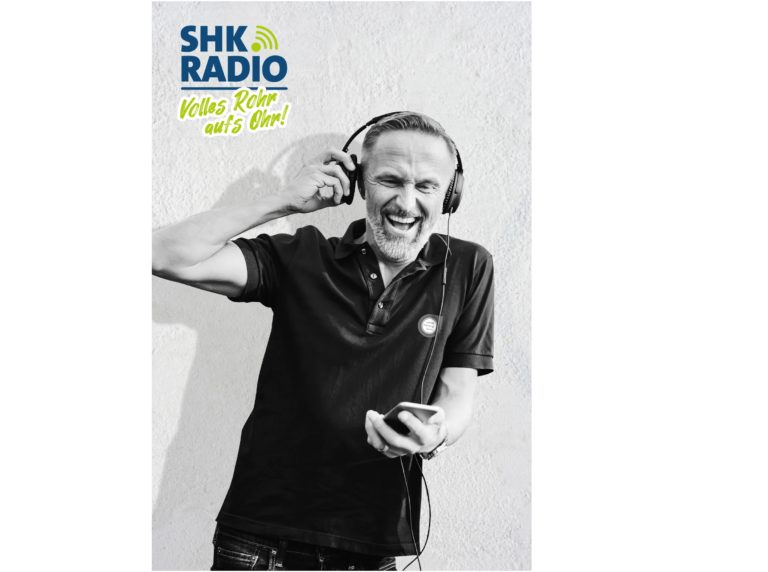 Erster Radiosender für die SHK-Branche on air –  Pumpenhersteller Grundfos jetzt auch medial als Pionier