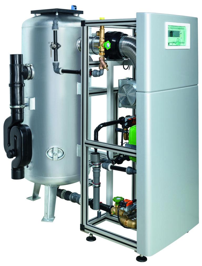 Mehrstufiges Filtersystem von Grünbeck für die Eisen- und Manganreduzierung