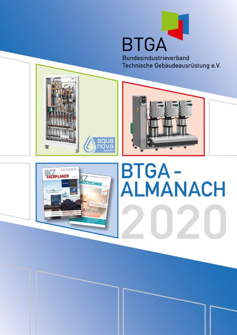 20. BTGA-Almanach zeigt aktuelle Trends der TGA-Branche