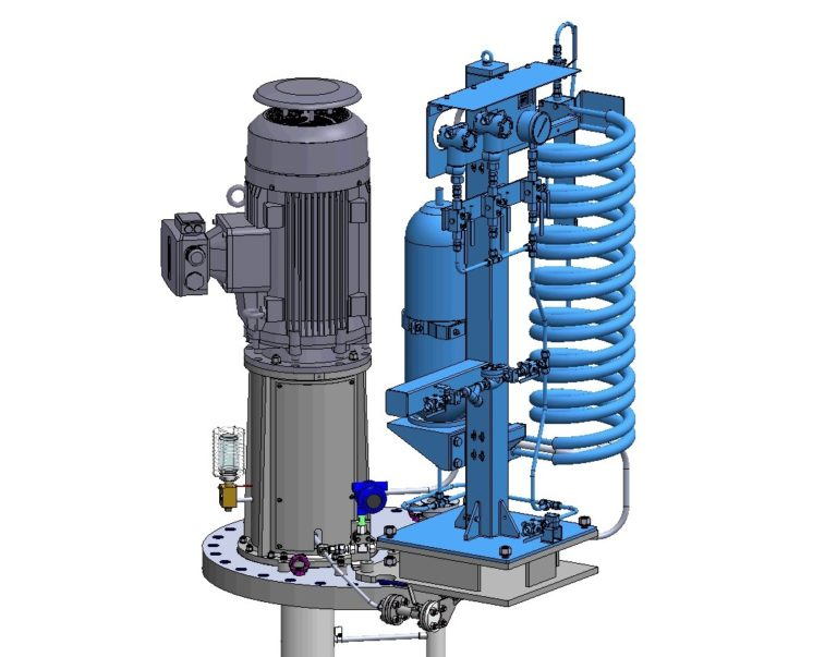 Amarinth supplies API 610 VS4 pumps for the ADNOC Al Mandous oil storage mega facility