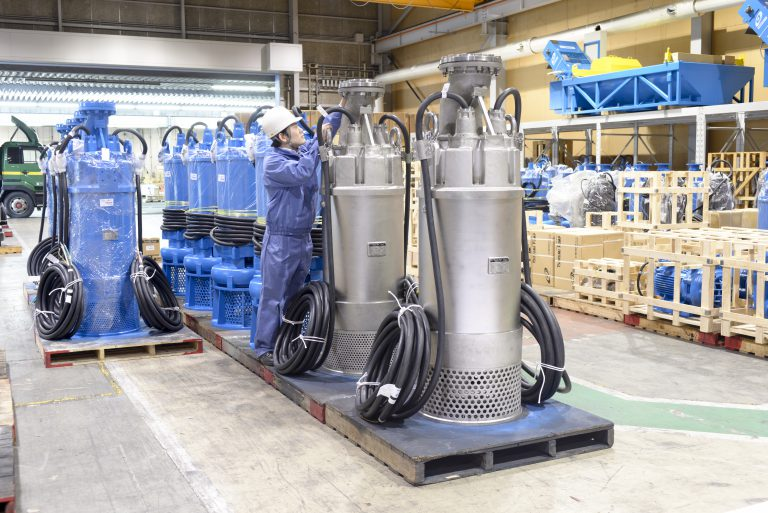 Delivery Capability Ensured for Tsurumi Pumps