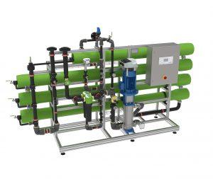 Optimal entsalztes Wasser durch neue Umkehrosmoseanlagen osmoliQ von Grünbeck