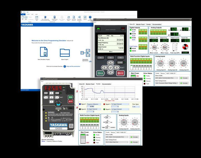 Yaskawa: Neuer Simulator für Umrichter GA 500 und GA 700
