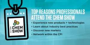 The 2019 Chem Show set to Host Chemical Processing Industry's Networking Event of the Year