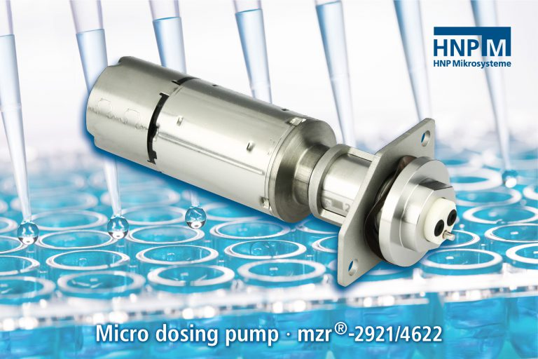 Micro dosing pumps from HNP Mikrosysteme in global use against COVID-19