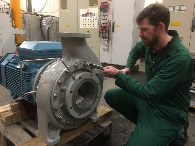Amarinth delivers low-shear nutshell filtration pumps to Arabian Industries