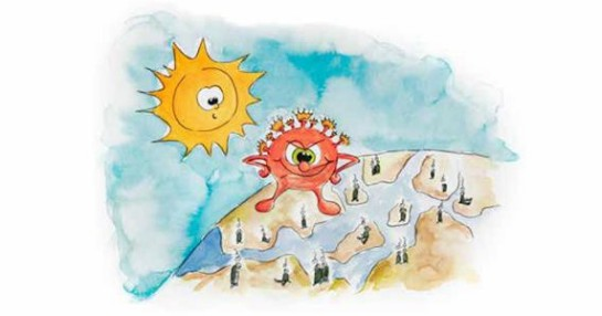 Grundfos sponsors children's book to help little ones through crisis