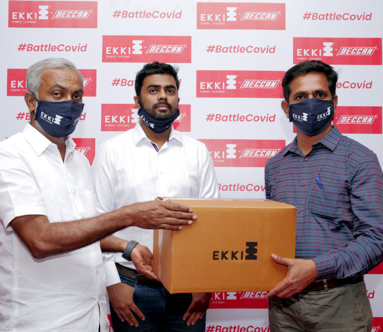 EKKI Pumps to provide PPE Kits to Pump Installers across India