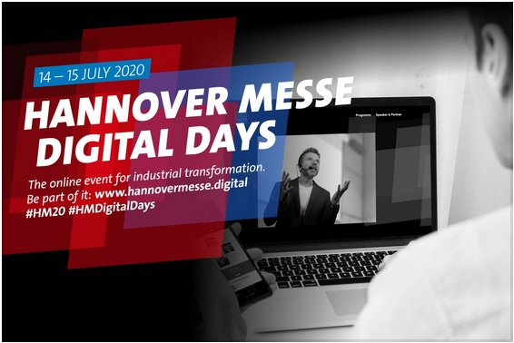 HANNOVER MESSE Digital Days to premiere from 14 to 15 July 2020