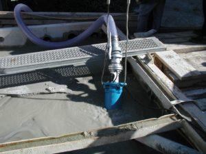 Tsurumi: Water pumps in concrete applications