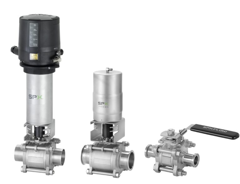 SPX FLOW Announces New APV Ball Valve Series