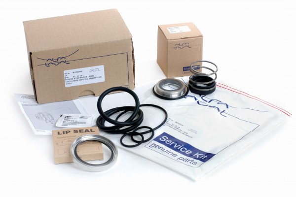 Hygienic fluid handling Service Kits with spare parts