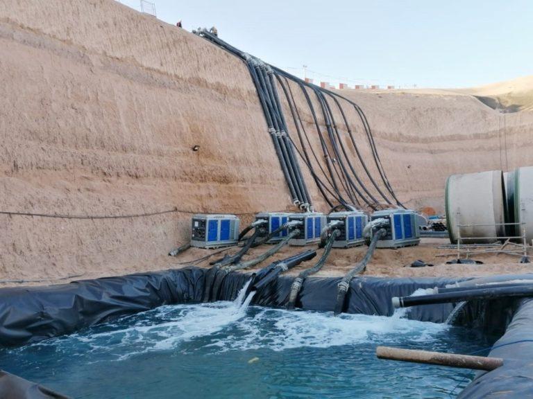 Construction of Agadir Desalination Project
