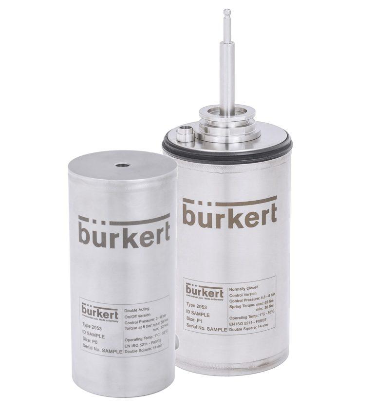 Pneumatische Antriebe für platz- und hygienekritische Anwendungen