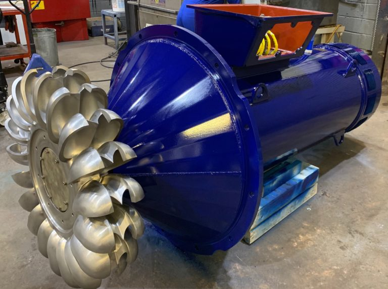 River Power Selects Rotamec for Hydropower Generator Repair