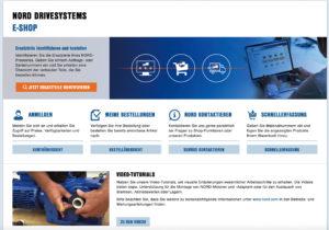 NORD-Ersatzteile online identifizieren und bestellen