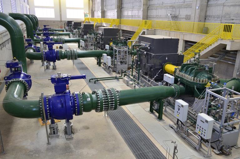Aufbau der zukünftigen Wasserversorgung Brasiliens mit Sulzer-Pumpen