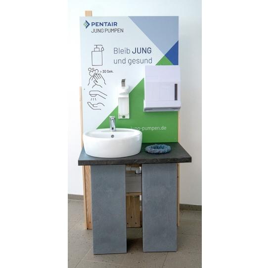 Pentair Jung Pumpen bietet kostenlose Selbstbaupläne für mobile Waschplätze