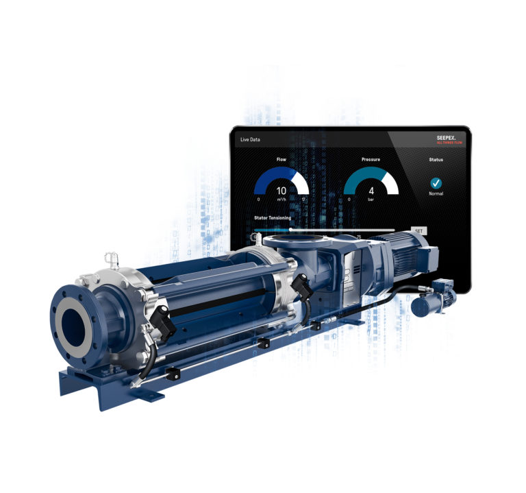 Seepex Unveils Automatically Adjustable Progressive Cavity Pump