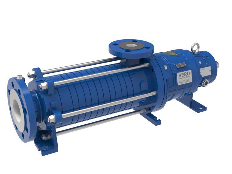 Distribution sûre d'aérosols avec des pompes à canal latéral