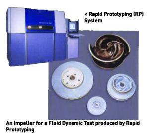 Sistema di produzione di parti idrauliche che incorpora TURBOdesign1 con Ebara Corporation